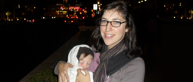 Celebrity Mom: Mayim Bialik