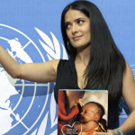 Celebrity Mom: Salma Hayek